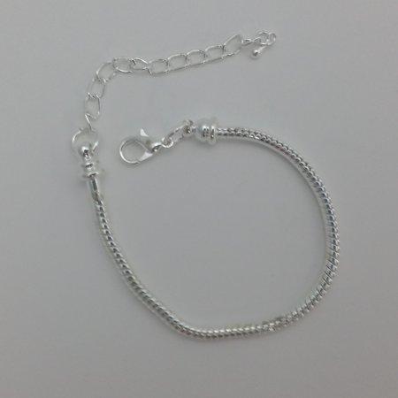 Platinum Plated Charm - 1 Bracelet - 6