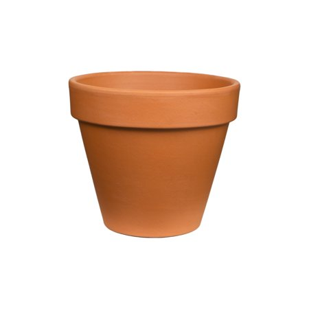 Urn Weathered Terra Cotta (Pennington Terra Cotta Clay Pot/Planter, 10 inch )
