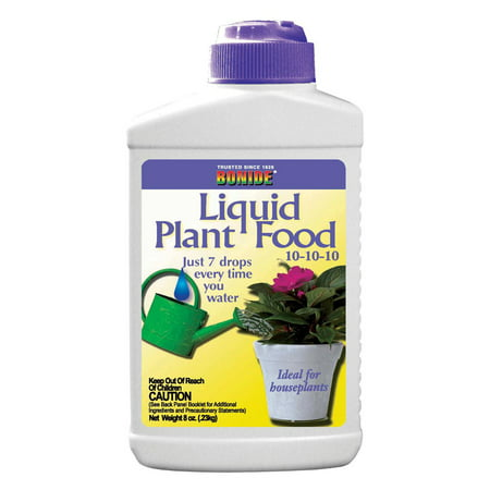 Bonide 108 8 Oz Liquid Plant Food Concentrate 10-10-10