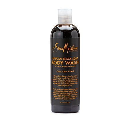 Sheamoisture African Black Soap Body Wash  13 Oz