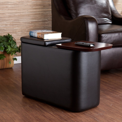 Southern Enterprises Remington Home Theater End Table, Multiple Colors