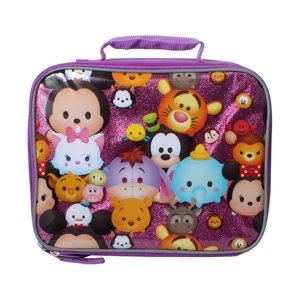 Accessory Innovations Disney Tsum Tsum Stacks on Stacks 9.5-inch Insulated School Lunch Box Bag