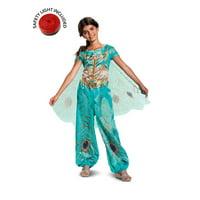 Girl's Jasmine Teal Classic Toddler Halloween Costume - Aladdin Live Action