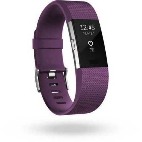 Refurbished FitBit FB407SPML Charge 2 Activity Tracker + Heart Rate - Plum