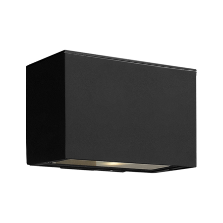 Wall Sconces 1 Light Fixtures With Satin Black Finish Extruded Aluminum Material Medium Bulb 9