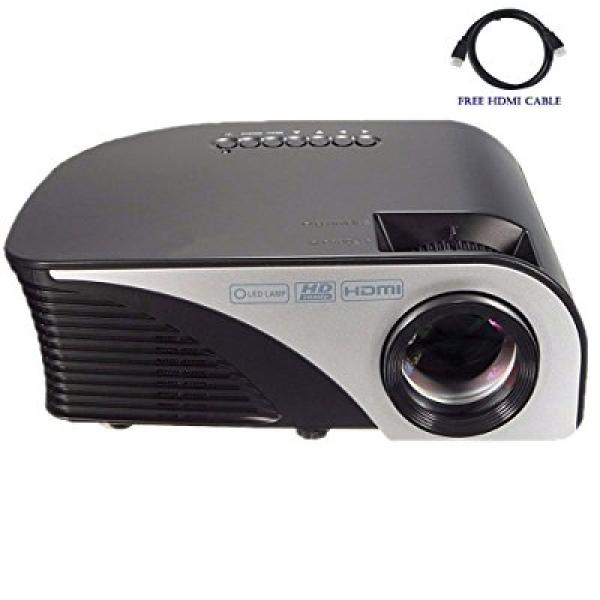 Video Projector,Dihome LCD LED 1200 Lumens Mini Projector...