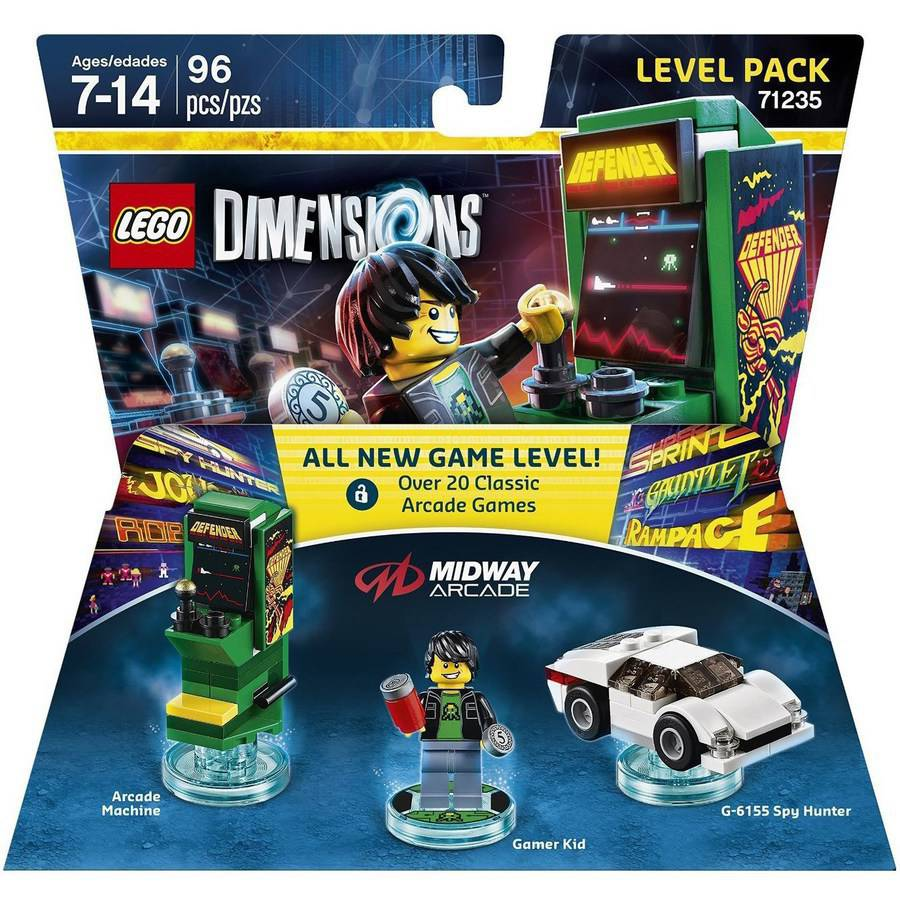 Lego Dimensions Midway Retro Level Pack (Universal)