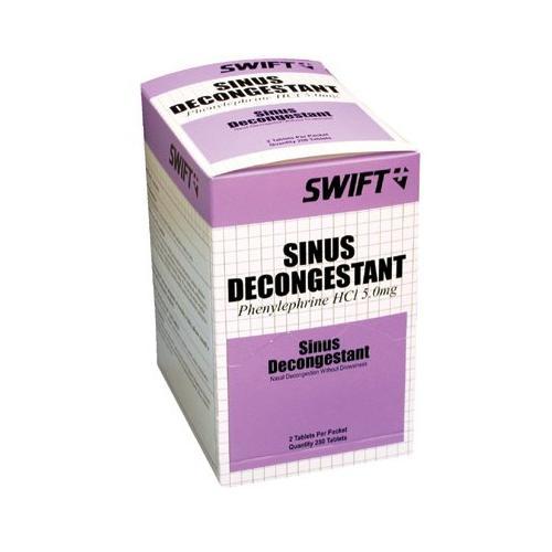 Sinus Decongestant Tablets - 2106250 SEPTLS7142106250