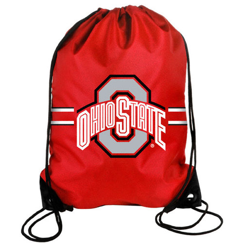 NCAA - Ohio State Buckeyes Drawstring Backpack