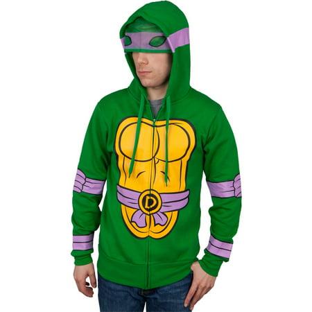 Teenage Mutant Ninja Turtles - I Am Donatello Costume Zip Hoodie (Tutorial Zip Halloween)