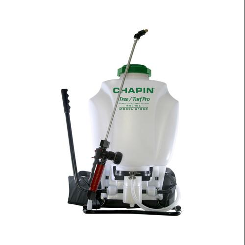 CHAPIN R E MFG WORKS Tree Turf Backpack Sprayer, 4-Gal. by Chapin Mfg Inc