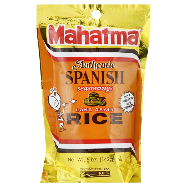 Mahatma Authentic Spanish Rice Mix, 5-Ounce Bag