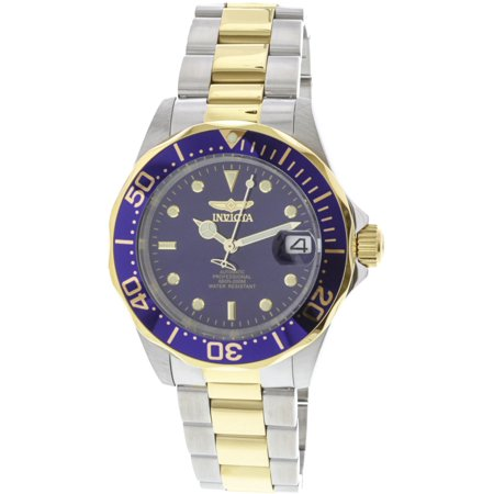 Men's 8928 Pro Diver Collection Two-Tone Stainless Steel Automatic (Pro Diver Automatic Steel Watch)