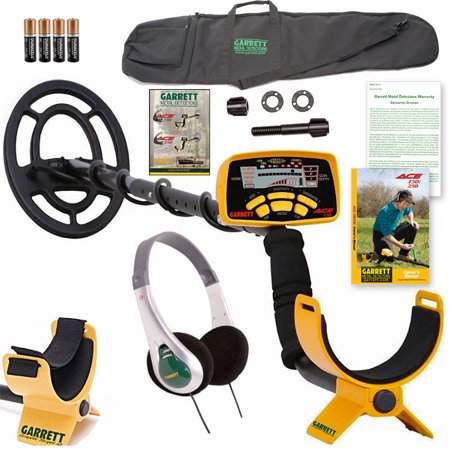 Garrett ACE 250 Metal Detector Package w/ Headphones, DVD and Deluxe Carry Bag ()