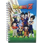 Dragon Ball Z Group In Lawn Anime Hardcover Spiral Notebook