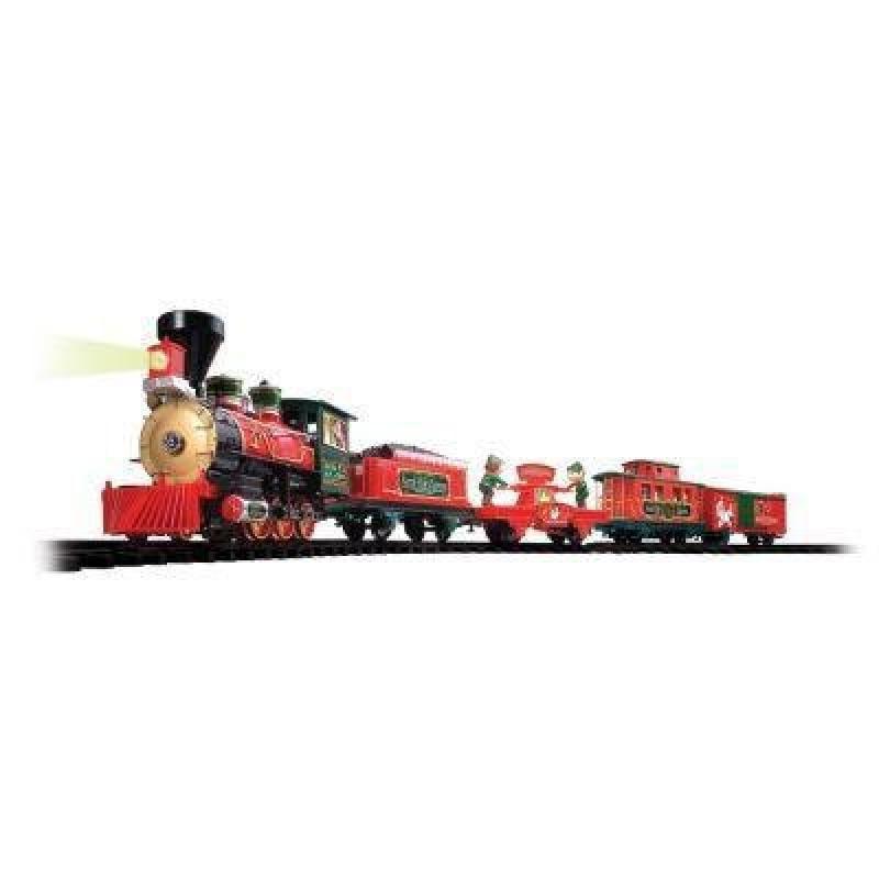 Holiday Santa Express Christmas Train Set, 35 PIECE SET, ...