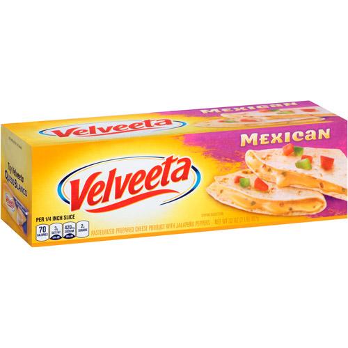 Kraft Velveeta Mexican Mild Cheese, 32 oz