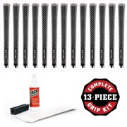 Golf Pride Z-Grip Cord Midsize - 13pc Golf Grip Kit (with tape, solvent, vise clamp)