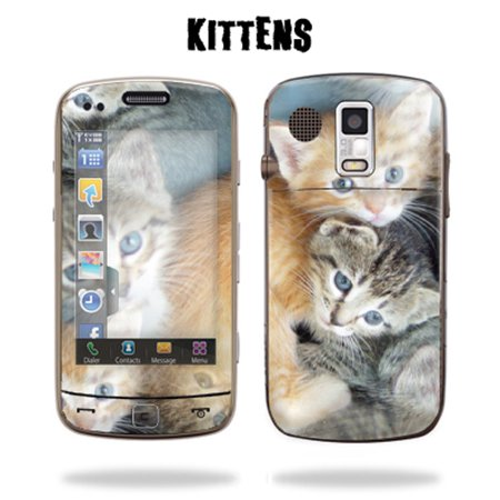 Skin Decal Wrap cover for SAMSUNG ROGUE U960 Cat Eyes