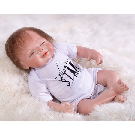 Dolls & Stuffed Toys Dashing So Cute Simulation Soft Baby Dolls Blinking Bathing Accompanying Playing Babies Toys For Kids Birthday Chirstmas Gift Dolls