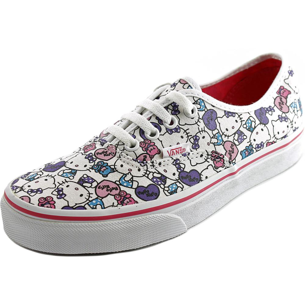 vans authentic toe canvas white sneakers