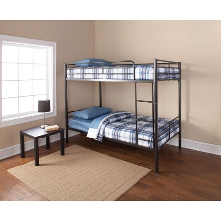Mainstays Twin Stackable Metal Bunk Bed Walmart Com