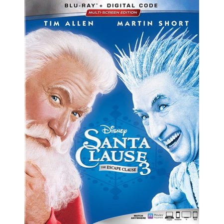 Santa Clause 3: The Escape Clause (Blu-ray + Digital