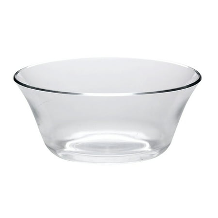 (All For You Green Apple LEAD FREE Clear Glass Fruit and Salad Bowl / Glass Bowl, Dish, Plate- 7 INCH, 29 OZ)