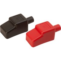 """Sea Dog Battery Terminal Covers, 5/8"""", Red/Black"""