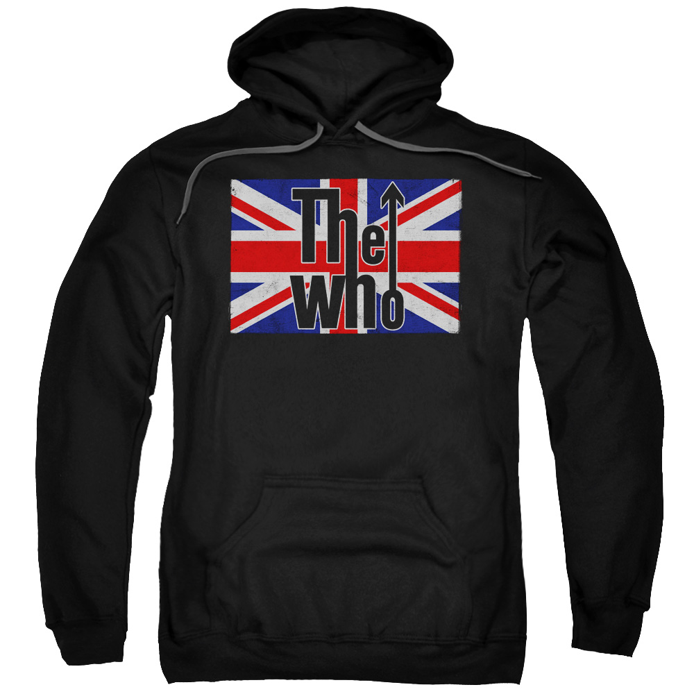 The Who Flag Logo Mens Pullover Hoodie