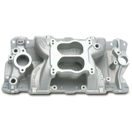 Edelbrock 2601 Performer Air-Gap Series Intake - Air Gap Intake Manifold