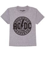 272a6877e06 Toddler Baby Boys AC/DC Back in Black T-Shirt - Short Sleeve Gray