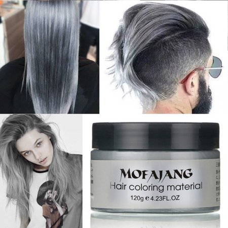 Unisex Diy Hair Color Wax Mud Dye Cream Temporary Modeling 7 Colors