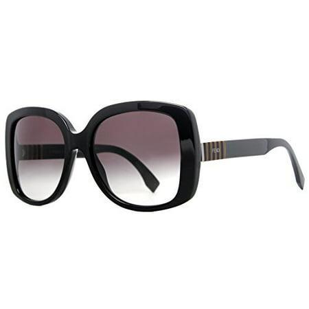 Fendi Women's 0014/S 0014S 7SY9O Black Fashion Sunglasses 55mm