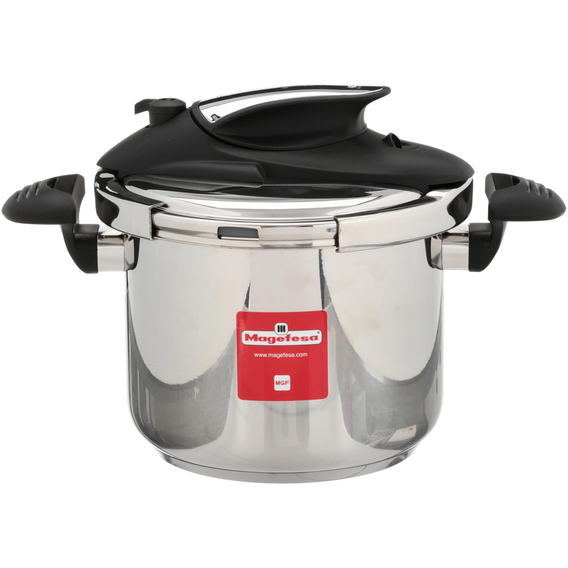 Magefesa Nova 6.3 Qts. Stainless Steel Pressure Cooker