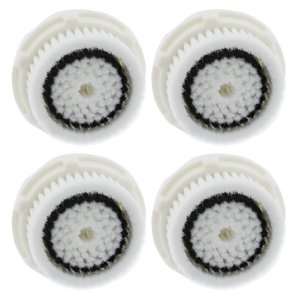 4-Pack Sensitive Skin Facial Cleansing Brush Heads for Clarisonic Mia 2 Pro