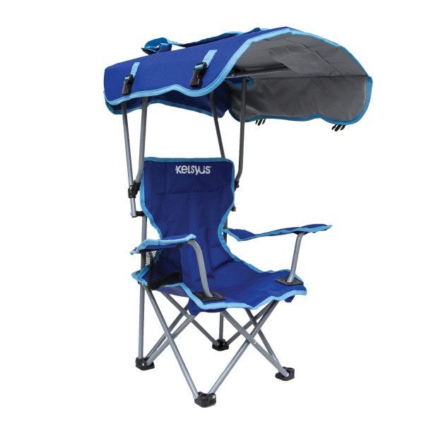 Kelsyus Kids Canopy Chair, Blue