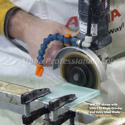 - Alpha Wet Blade Cutting Kit for Grinders