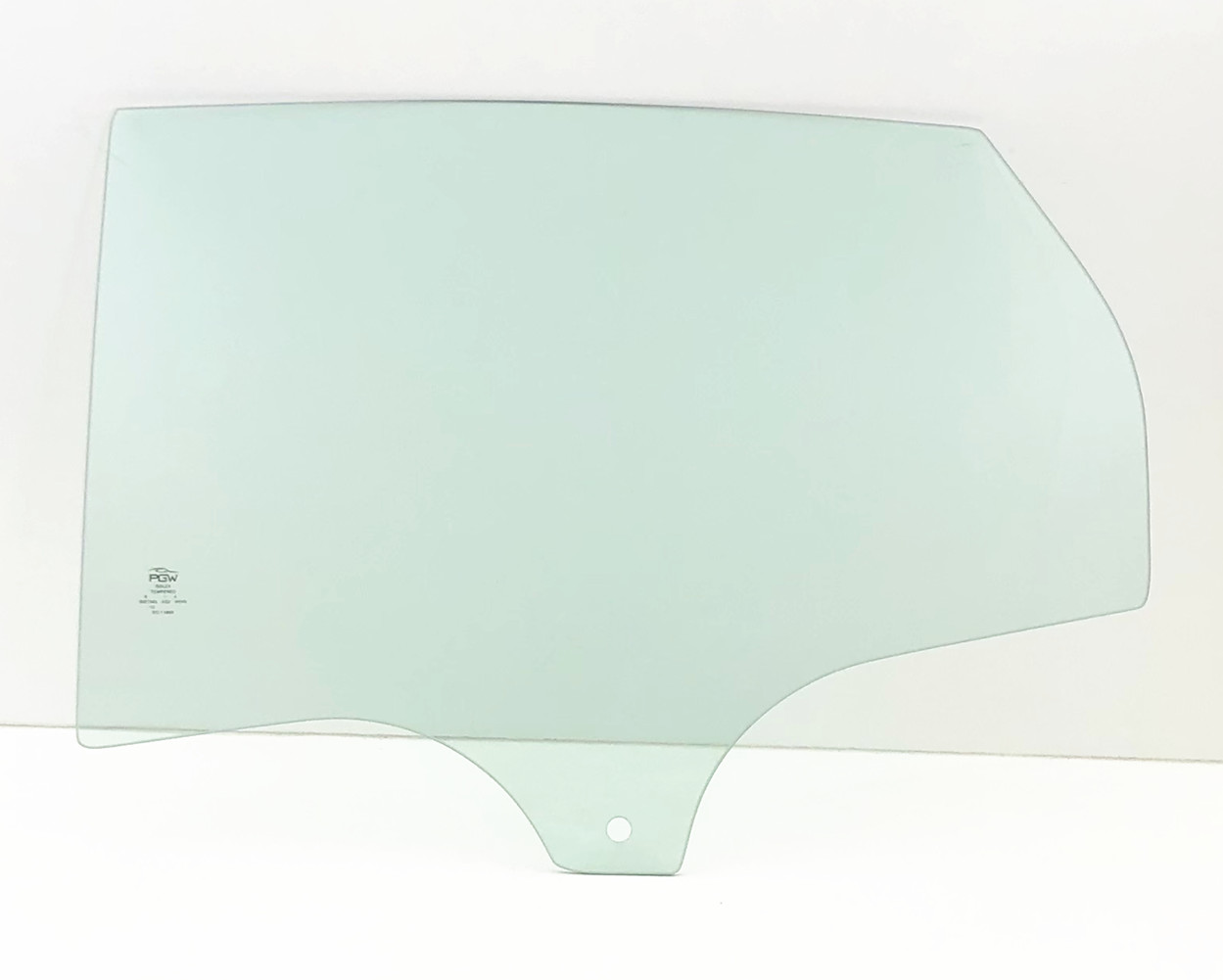 NAGD Compatible with 2012-2018 Ford Focus Driver Left Side Front Door Window Glass