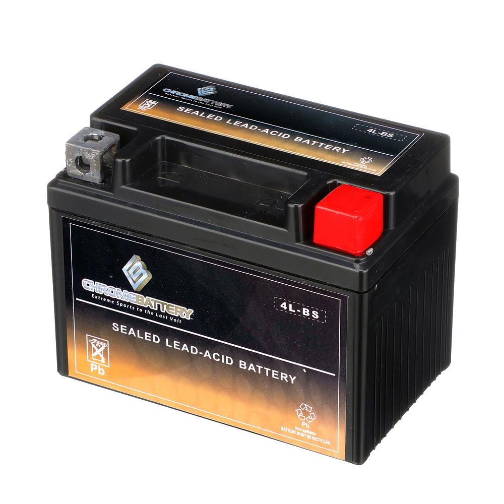 12V 1Amp Charger Mighty Max YTX4L-BS Battery for Coolster 110CC GK-6110A