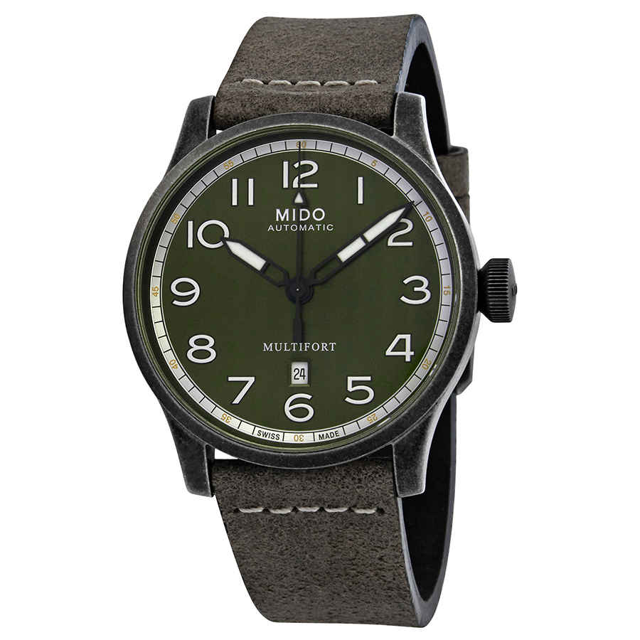 Multifort Green-Grey Dial Automatic Mens Watch M032.607.36.090.00