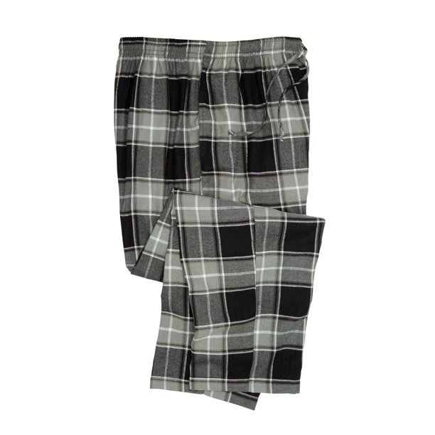 Men's Big & Tall Flannel Plaid Lounge Pants
