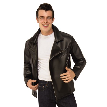 Grease 1950'S Mens Greaser Biker T-Birds Adult Costume Jacket