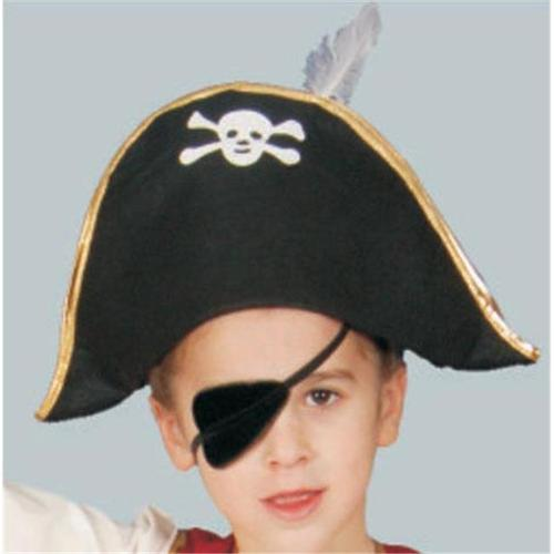 Foldable Pirate Hat Adult Costume Accessoryon