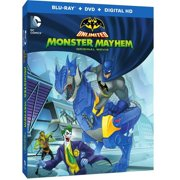 Batman Unlimited: Monster Mayhem (Blu-ray + DVD + Digital HD With UltraViolet) (With INSTAWATCH) by WARNER HOME VIDEO