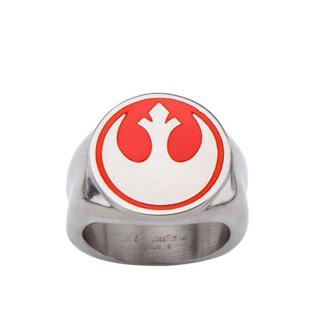 Star Wars Rebel Symbol Men's Ring](Star Wars Plastic Rings)