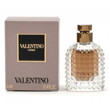 VALENTINO UOMO * Valentino 0.14 oz / 4 ml EDT Miniature Men Cologne Splash](Halloween Costumi Uomo)