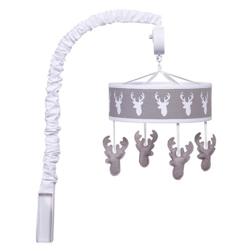 Harriet Bee Polina Stag Head Musical Mobile by Harriet Bee