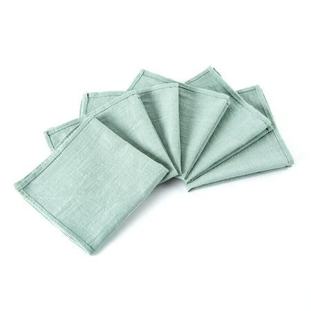 Mint Green Napkins (Mint Green Cotton Napkins , Cloth Napkins, Set Of 6 Canvas Napkins, Wedding Napkin, Party Napkins, Favor)