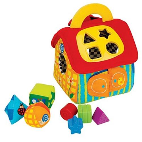 K's Kids Deluxe Patrick Shape Sorting House by Ohio Art Multi-Colored
